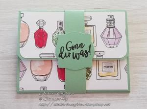 Gutscheinkarte: Gönn dir was ~ Parfümflakons - Handarbeit kaufen