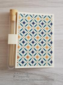 Wunscherfüllerkarte zu Weihnachten: Muster 01 - Handarbeit kaufen