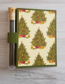 Wunscherfüllerkarte zu Weihnachten: Weihnachtsbäume