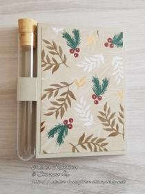 Wunscherfüllerkarte zu Weihnachten: Weihnachtliche Zweige