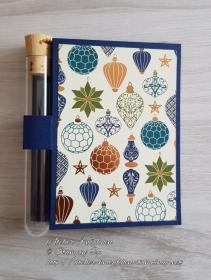 Wunscherfüllerkarte zu Weihnachten: Christbaumkugeln 02 - Handarbeit kaufen