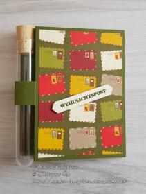 Wunscherfüllerkarte zu Weihnachten: Weihnachtspost - Handarbeit kaufen
