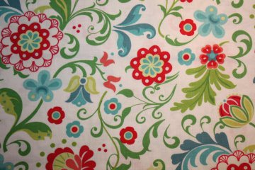 Patchworkstoff feathers and flourishes Blütenmuster Bernatex