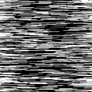 Baumwolldruck Verzerrung Streifen weiß schwarz für Stoffmasken für Jungs und Männer  - Handarbeit kaufen