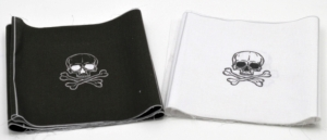 Baumwollstoff Masken Set Panel Totenkopf für 16 Masken, Motiv 20,5 x 19,0 cm Mundschutz made in EU - Handarbeit kaufen