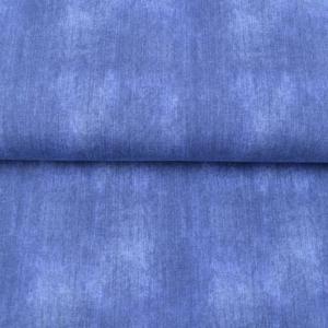 Jeans Baumwolll-Jersey-Stoff uni blau ausgewasche Jeansfarbe Öko-Tex Standard 100 - Meterware EU Stoffe Jeansoptik - Handarbeit kaufen