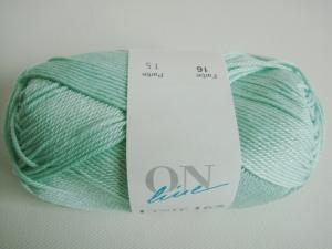 ONline Linie 165, Sandy, Farbe 16, mint, 100% Baumwolle, 50gr.