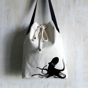 SEEMANNSGARN - Umhängetasche mit Oktopus