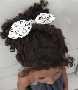 Haargummi Haarschleife
