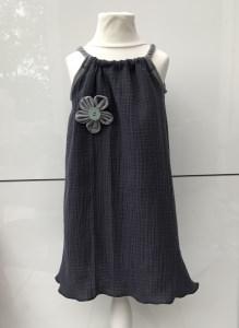 Kleid Musselin 98 Hängerchen