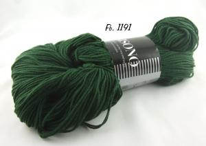 Atelier Zitron - Unisono Uni mit Aloe Vera und Jojoba - Farbe 1191 tannengrün