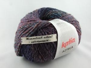 schöne Verlaufswolle von Katia Azteca Farbe 7834 in blau und violett