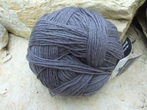 einfarbige 6-fach Wolle Schoppel Admiral Stärke 6 Farbe Stahlgrau