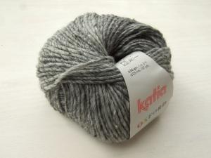 schöne Tweedwolle von Katia Oxford Farbe 205 in grau - Handarbeit kaufen