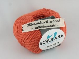 sommerliches Baumwollgarn Sierra Unico mit Seide von Schulana in Farbe 41 rot