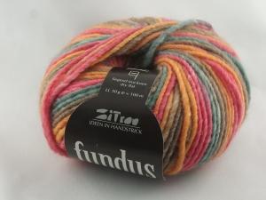 schöne Verlaufswolle von Atelier Zitron Fundus in herbstlich gedeckten Farbtönen (Farbe 140) - Handarbeit kaufen
