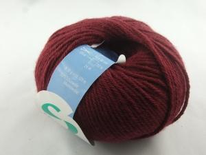 mitteldicke einfarbige Schurwolle Merino von Schulana: Filana Merino Farbe Nr. 357, bordeaux - Handarbeit kaufen