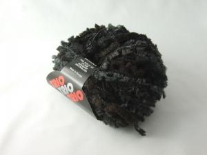 kuschelige Teddywolle Trio Teddy in schwarz zum Stricken oder Basteln - Handarbeit kaufen