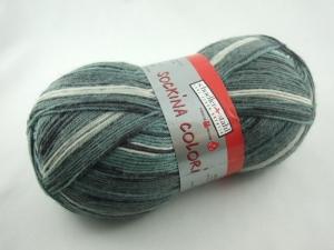 schöne 4-fach Sockenwolle Sockina Colori von Schöller und Stahl in verschiedenen Grüntönen, Farbe Nr. 97 - Handarbeit kaufen