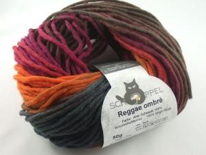 schöne Verlaufswolle Reggae ombre von Schoppel in der Farbe Alter Schwede - Handarbeit kaufen