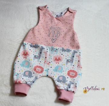 Babystrampler Gr. 50/56 mit dem Aufdruck Wunschkind