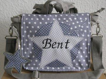 Kindergartenrucksack Star ... mit deinem Wunschname