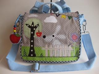 Kindergartenrucksack  Hund  ... mit deinem Wunschname ---> SOFORT ZU HABEN  - Handarbeit kaufen
