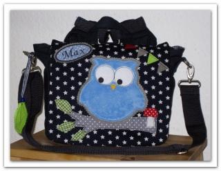 ★Kindergarten Rucksack  EULE Mimi , gerne mit Name ★ - Handarbeit kaufen