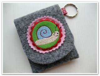★ Geldbörse aus Wollfilz ★ Minitasche ★ Portemonnaies ★ SOFORT ZU HABEN  - Handarbeit kaufen