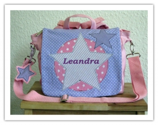 Kindergartenrucksack Star ... mit deinem Wunschname - Handarbeit kaufen