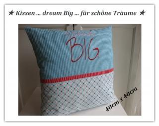 Kissen    ★ dream big ★    40x40cm   - sofort zu haben   Kuschelkissen