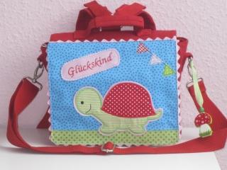 Kindergartenrucksack   Schildkröte    ... mit deinem Wunschname - Handarbeit kaufen