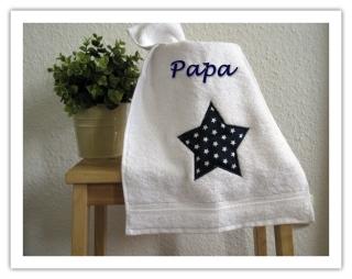 ★ Handtuch   mit Motiv und Name ★ Gästehandtuch ★ personalisierbar ★ Handtuch bestickt