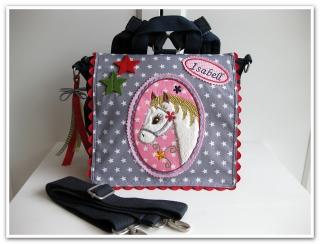 ★Kindergarten Rucksack   ★PONY★   gerne mit Name ★ Kindergartentasche★ - Handarbeit kaufen