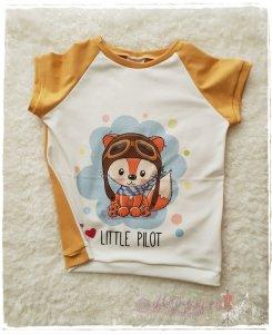 T-Shirt ♥little Pilot♥ Größe 104/110