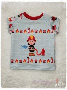 T-Shirt ♥kleiner Feuerwehrmann♥ Größe 92/98