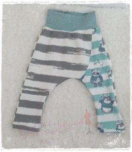 Pumphose ♥ Piratenbande ♥ Gr. 80/86 Streifen