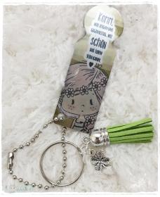 Einkaufswagenlöser ♥ Schlüsselanhänger ♥ Schönes Leben - Handarbeit kaufen