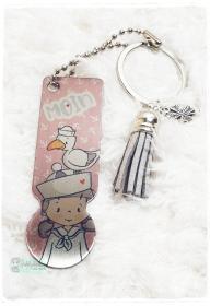 Einkaufswagenlöser ♥ Schlüsselanhänger ♥ Moin - Handarbeit kaufen