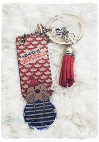 Einkaufswagenlöser ♥ Schlüsselanhänger ♥ Nicht ganz unsympathisch - Handarbeit kaufen