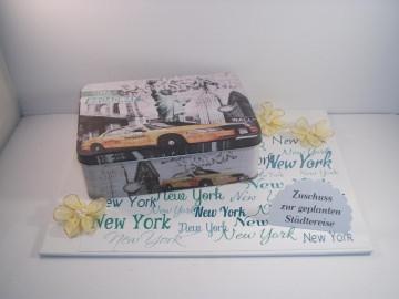 Geldgeschenk Geburtstag, Städtereise New York, Gutschein, Reise, Amerika