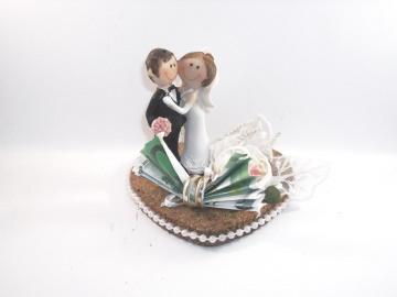 Geldgeschenk, Hochzeit, lustiges Paar, Comic, funny, Humor, Brautpaar