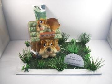 Geldgeschenk Geburtstag, Hund, Hundefutter, Tier, Hundehütte, Welpe