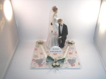 Geldgeschenk, Hochzeit, schwangere Braut, Baby - Handarbeit kaufen