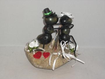 Geldgeschenk zur Hochzeit, Ameisen, Gartenfreunde, Garten, Brautpaar - Handarbeit kaufen