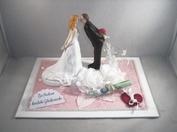 Geldgeschenk Hochzeit, küssendes Paar, Kuss, Liebe - Handarbeit kaufen