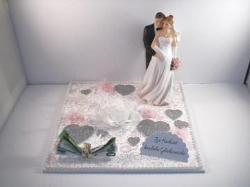Hochzeit, Geldgeschenk, schwangere Braut, Baby, Schwangerschaft