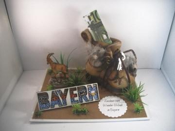 Geldgeschenk Geburtstag, Wanderurlaub, wandern, Bayern, bayrisch, Wanderschuhe, Berge, Gebirge