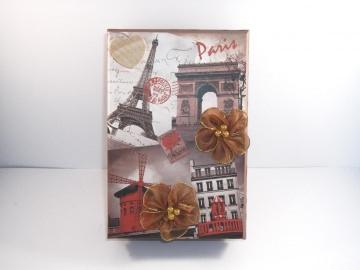 Geldgeschenk Geburtstag, Städtereise, Paris, Urlaub, Reise, Frankreich, Eiffelturm, Geschenkschachtel, Geschenkbox