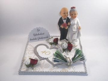 Geldgeschenk Rubinhochzeit, 40 Jahre, lange Ehe, Ehejubiläum, lustig, humorvoll, Humor   - Handarbeit kaufen